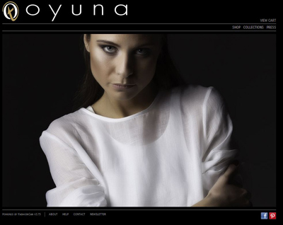 Montreal fashion: Oyunadesigns.com goes live